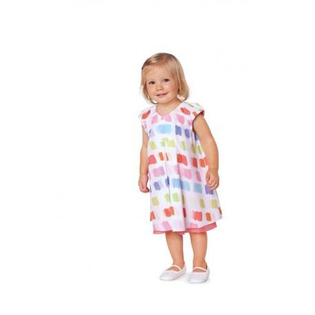 Patron n°9412 : Robe double pour bébé
