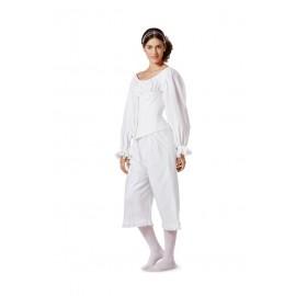 Patron n°: 7156 Sous vêtements historiques Femme