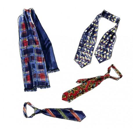 Patron n°3403 : Gilet, accessoires