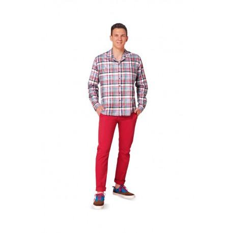 Patron n°6814 : Chemise pour homme