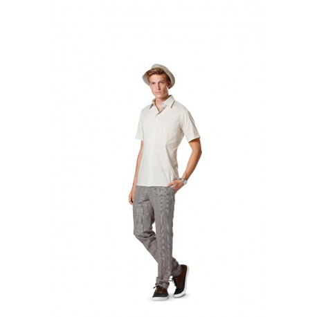 Patron n°6931 : Chemise pour Homme