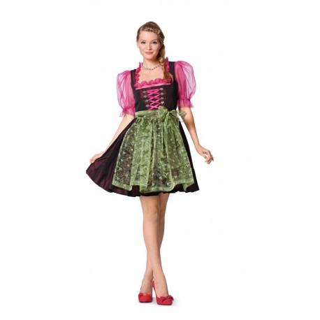 Patron n°7057 : Robe Folklore