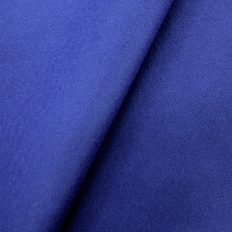 Feutrine fine Bleu électrique