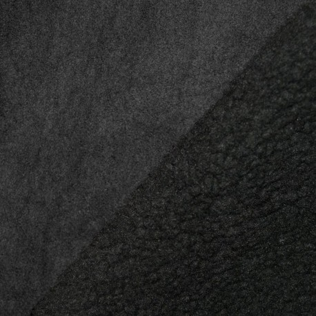 Simili Daim Noir Mouton