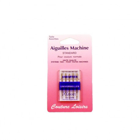Aiguilles machine universelles (x5)