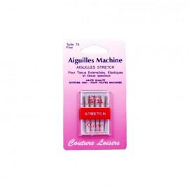 Aiguilles machine stretch (x5) - 75/11