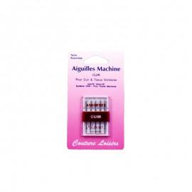 Aiguilles machine cuir assorties (x5)