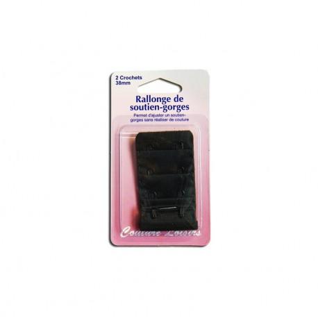 Rallonge de soutiens-gorge - 38mm Noir