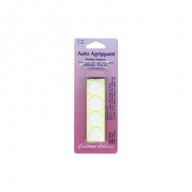 Pastilles adhésives blanches 20mm (x8)