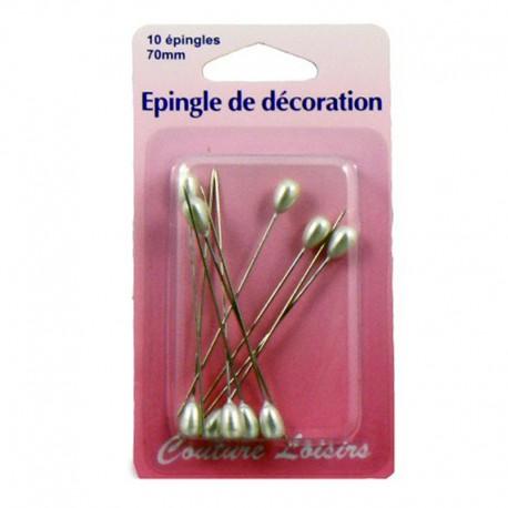 Epingles de décoration (x10)