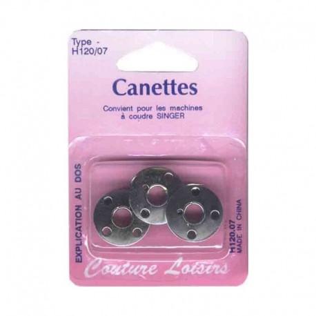Canettes Singer métal type 66 (x3)