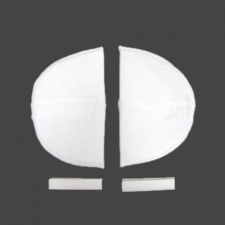 Épaulettes classiques blanches