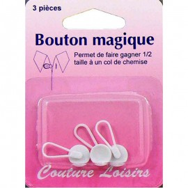 Boutons magiques pour chemise (x3)