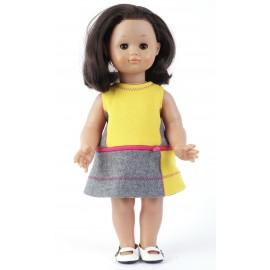 Patron Robe 3 en 1 pour fillette et robe chasuble pour poupée