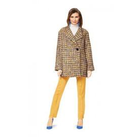 Patron n°6736 : Manteau col châle
