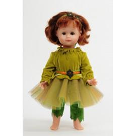 Déguisement de Fée des bois (Patron pour fillette et poupée)