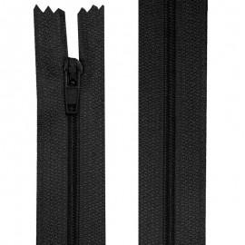 Fermeture nylon non-séparable de 10 à 20 cm noir et blanc