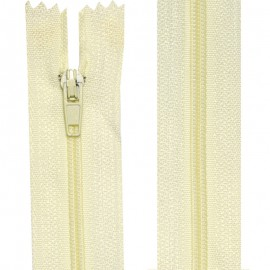 Fermeture nylon non-séparable de 10 à 60 cm écru
