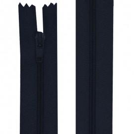 Fermeture nylon non-séparable de 10 à 60 cm bleu nuit