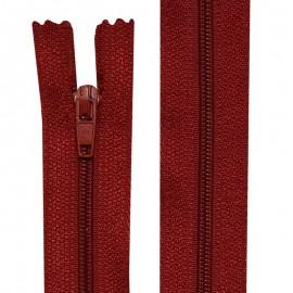 Fermeture nylon non-séparable de 10 à 60 cm Beaujolais