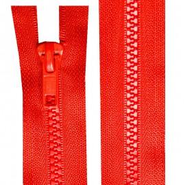 Fermeture injectée n°5 séparable de 25 à 80 cm rouge