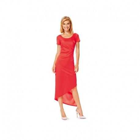 Patron N°6641 : Robe plis latéraux
