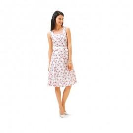 Patron N°6687 Burda style : Robe féminine et veste