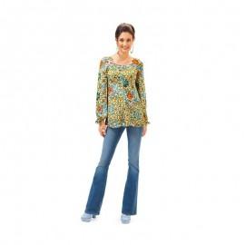 Patron N°6685 : Robe et blouse taille haute