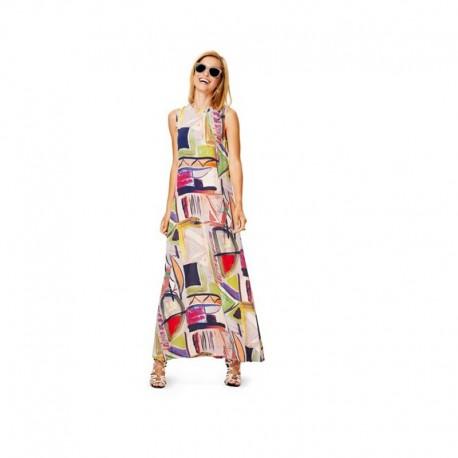 Patron N°6628 Burda : Robe d'été