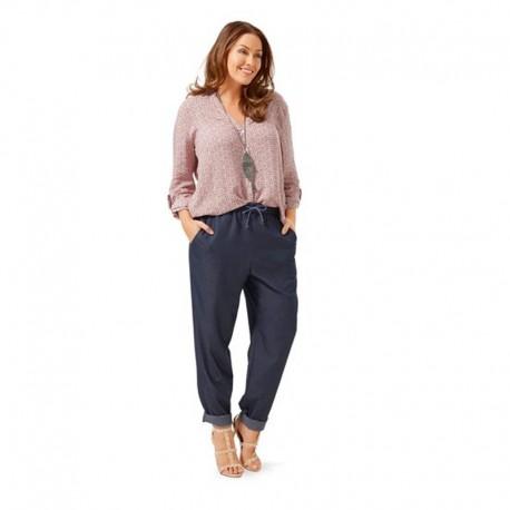 Patron N°6678 : Pantalon décontracté