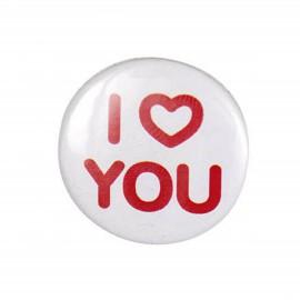 Badge I love you