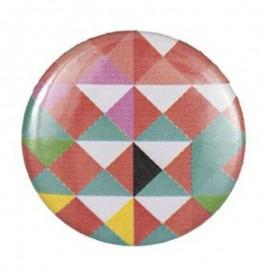 Badge motifs graphiques