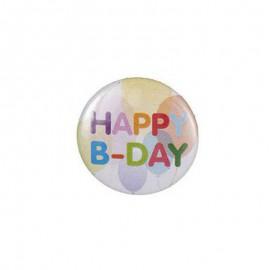 Badge happy birthday