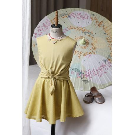 Tshirt et jupe danseuse pour fillette et poupée