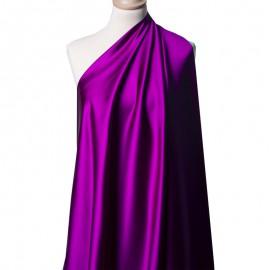 Tissu Satin Duchesse Acétate Violet x10cm