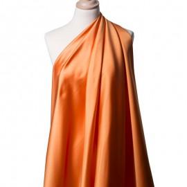 Tissu Satin Duchesse Mandarine x10cm
