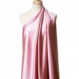 Tissu Satin Duchesse Rose des Bois x10cm