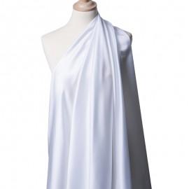 Tissu Satin Duchesse Blanc x10cm