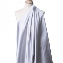 Tissu Satin Duchesse Gris perle x10cm