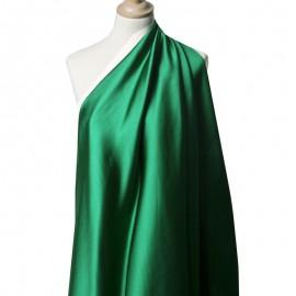 Tissu Satin Duchesse Emeraude x10cm