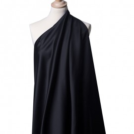 Tissu Satin Duchesse Bleu Royal x10cm