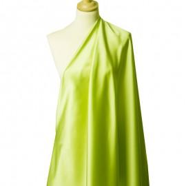 Tissu Satin Duchesse Vert Nil x10cm