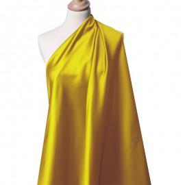 Tissu Satin Duchesse doré foncé x10cm