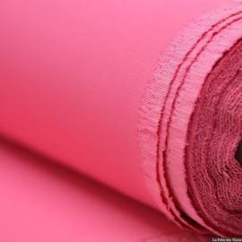Crêpe Cady 100% soie rose bonbon x10cm