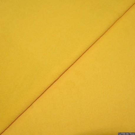 100% cachemire jaune x10cm vendu au 10cm