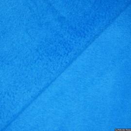 Tissu 100% cachemire turquoise x10cm